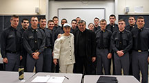 Stan the Stat's Man speaks at West Point