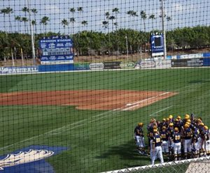 nnipiacU. Baseball Team at FGCU