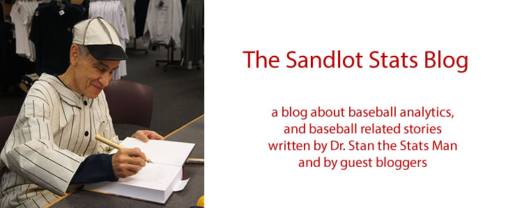 Sandlot Stats Blog Header Image