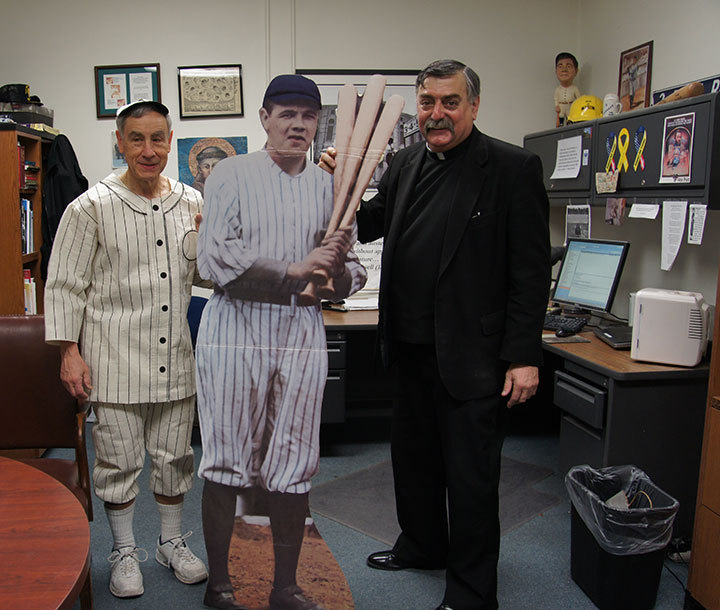Dr. Stan The Stats and Father Gabriel Costa