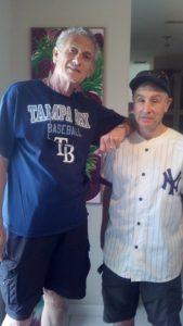 Baseball Buddies John-Norman Tuck and Dr. Stan the Stats Man